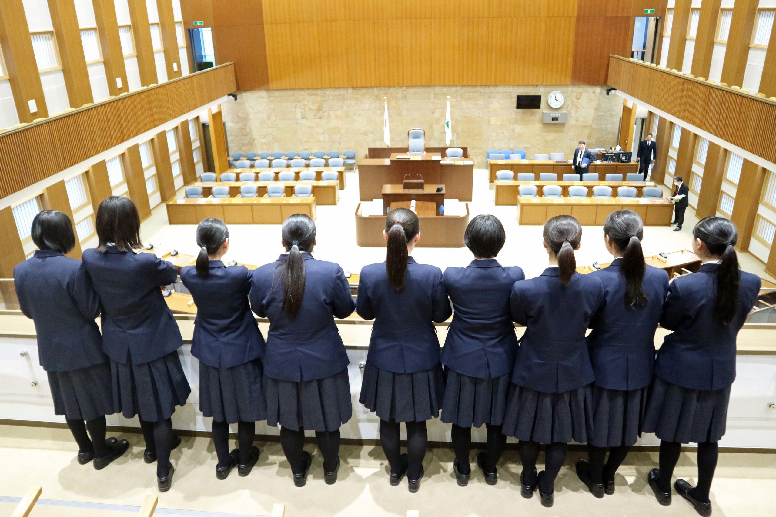 令和元年度「高校生模擬議会」五所川原第一高等学校